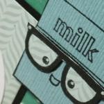 Paper Piecing: got milk?