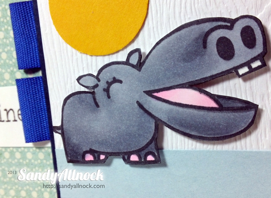 Sandy Allnock - Paper Smooches hippo2
