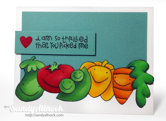 Sandy Allnock - Paper Smooches veggies1
