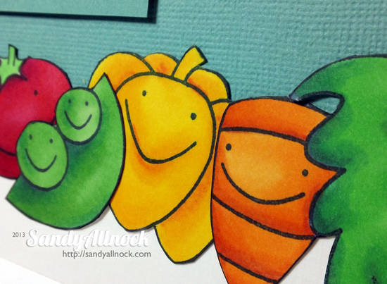 Sandy Allnock - Paper Smooches veggies2