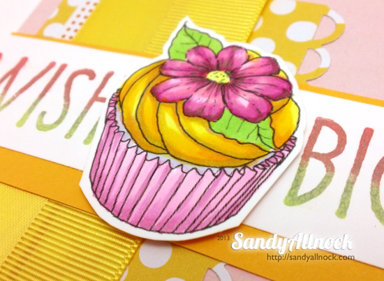 Sandy Allnock - Daisy Cupcake for ICSE 2