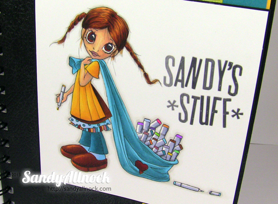 Sandy Allnock - Copic Book2