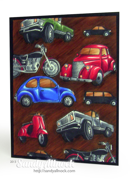 Sandy Allnock - Hero Arts cars