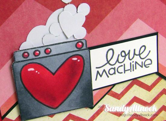 Sandy Allnock - Paper Smooches LuvMachine2