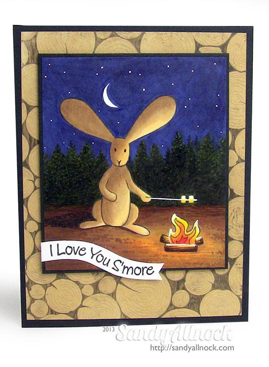 Sandy Allnock - MFT camping bunny