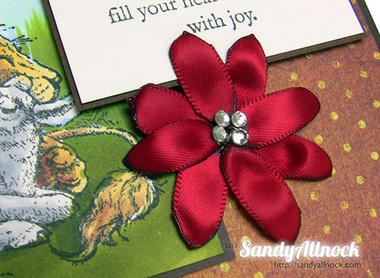 Sandy Allnock Ribbon Petal Tutorial6