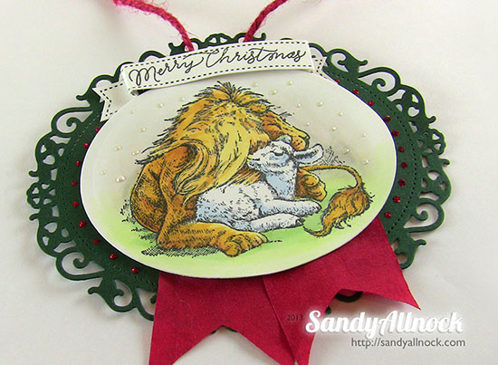 Sandy Allnock Ornament 4
