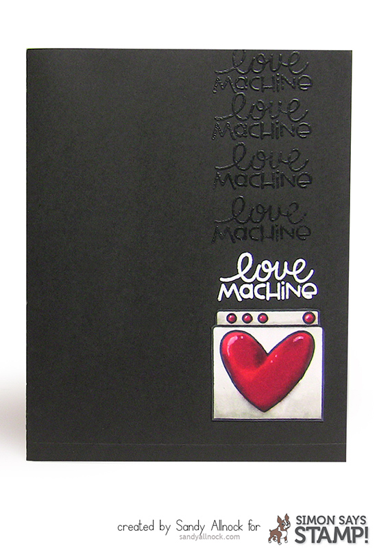 Sandy Allnock - PS LoveMachine Card 1
