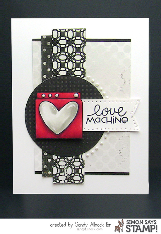 Sandy Allnock - PS LoveMachine Card 2