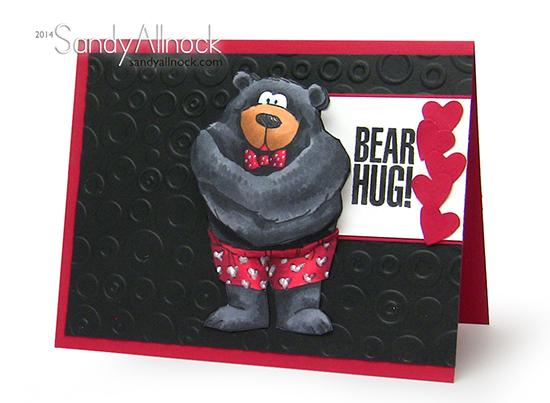 Sandy Allnock - AI Bear Hug