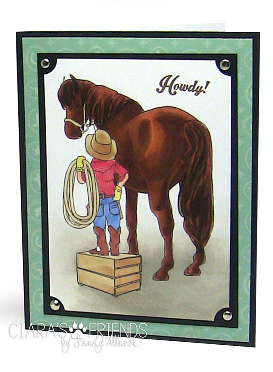 Sandy Allnock Brown Horse-Trigger & Skyler