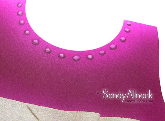 Sandy Allnock - Dimensional Ruffle Airbrush 2