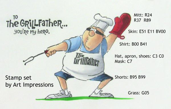 Sandy Allnock - Grillfather colors
