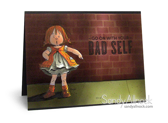 Sandy Allnock - Mo Manning Bossy Brick Wall