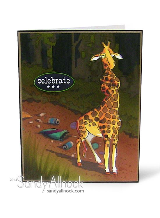 Sandy Allnock - AI Party Giraffe