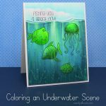 Coloring an Underwater Scene