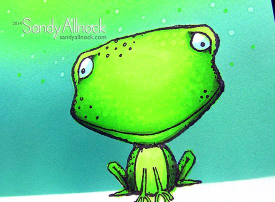 Sandy Allnock Purple Onion Frogs2