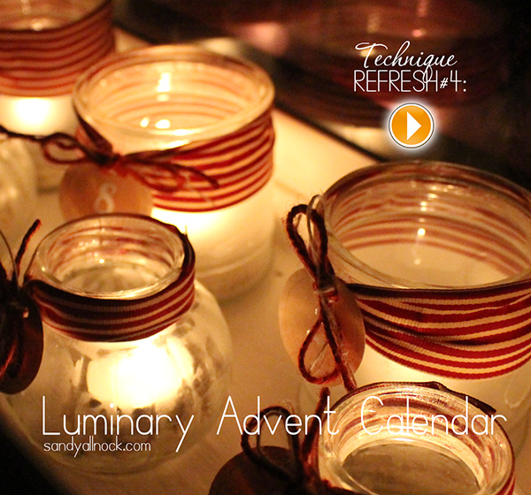 Sandy Allnock Luminary Advent Calendar