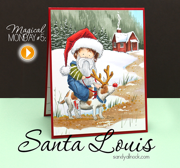 Sandy Allnock Santa Louis