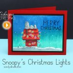 Technique Refresh: Snoopy's Christmas Lights