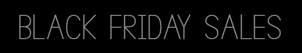 Black Friday festivities