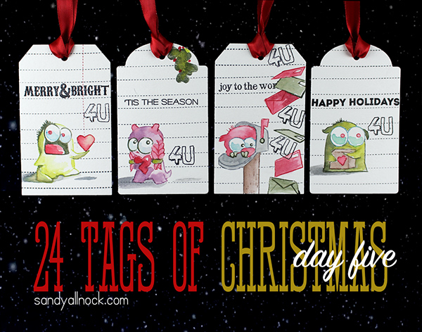 24 Tags of Christmas 2014: Day Five