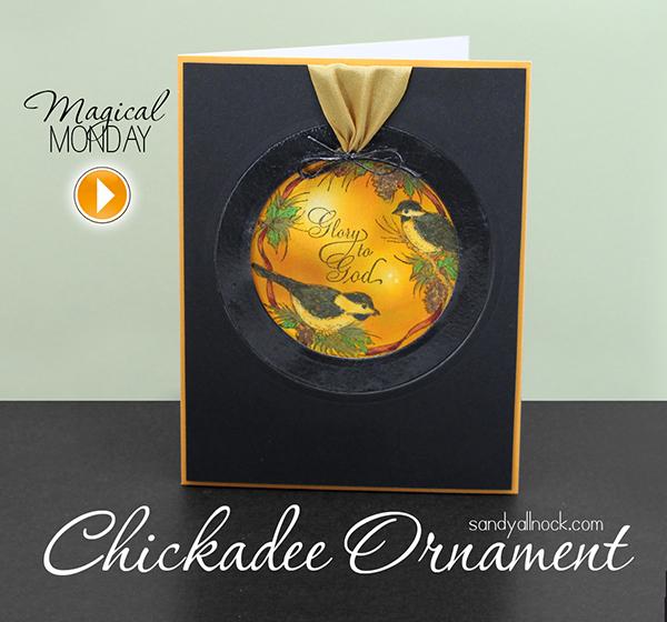 Sandy Allnock - Chickadee Ornament