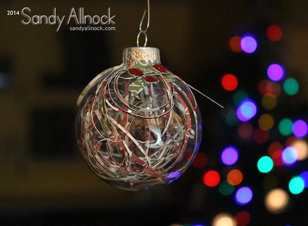 Sandy Allnock - Ornament 1