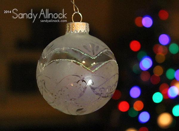 Sandy Allnock - Ornament 3