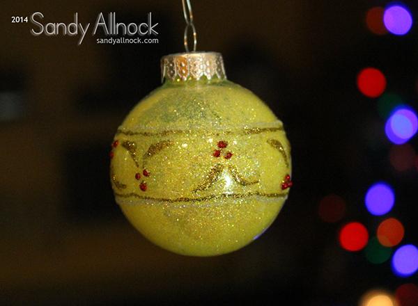 Sandy Allnock - Ornament 6