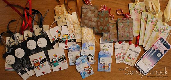 24 Tags of Christmas: Winners! (and a bonus!)