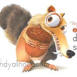 Magical Monday: Drawing Scrat