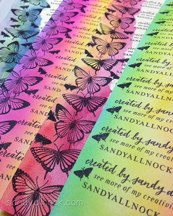 Sandy Allnock - Handmade Business Cards2