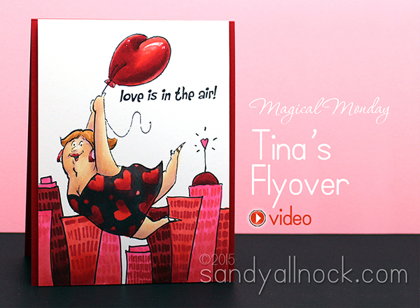Magical Monday: Copic Coloring Tina's Flyover