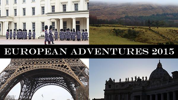 European Adventures 2015