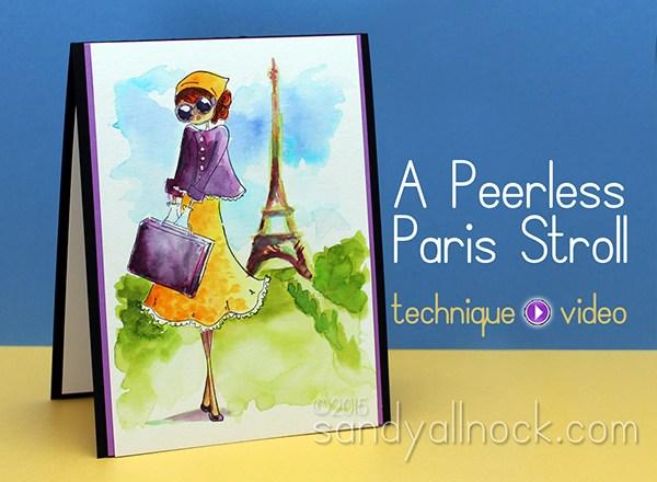 A Peerless Watercolor Stroll in Paris