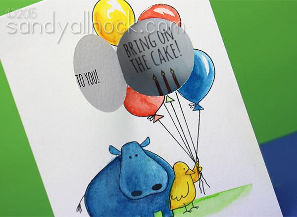 Sandy Allnock - Hippo Birdie2u