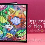 Impressions of High Tea: Watercolor pencils