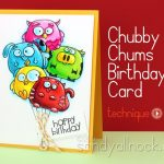 Chubby Chums Birthday Cards