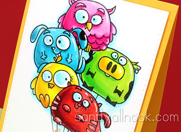 Sandy Allnock Chubby Chum Birthday Cards2