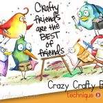 Bird Crazy Stamps – Crafty Friends