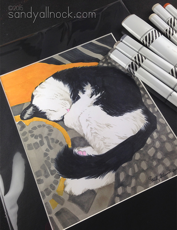 Sandy Allnock- Mannie the Cat2