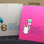 Stamped Birthday Cards – Baby Party Animals