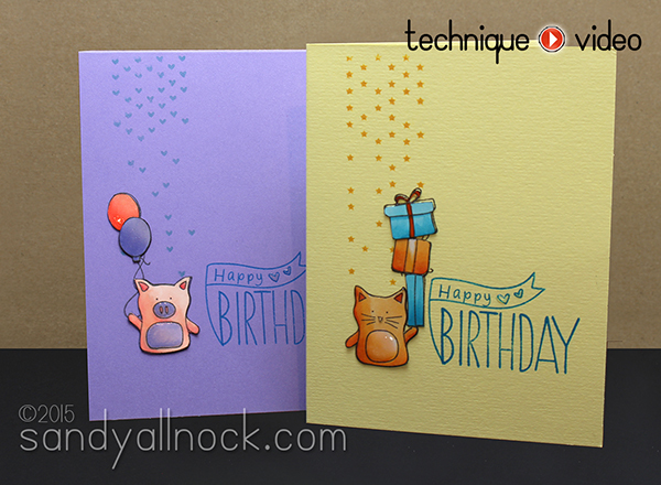 Sandy Allnock Birthday Cards 2