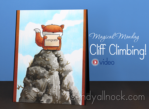 Magical Monday: Cliff climbing!