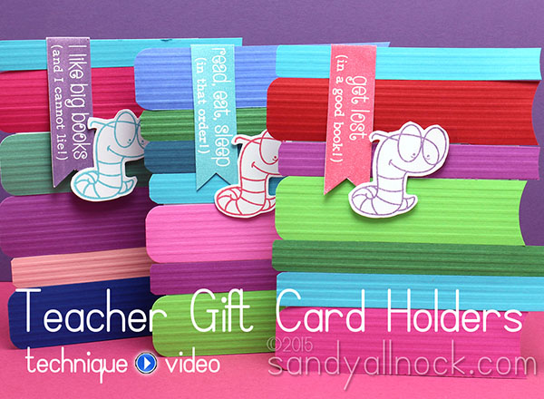 Teacher Gift Card Holders – childrens craft