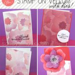 Ellen Hutson Bloghop: How to stamp on vellum – with dies!