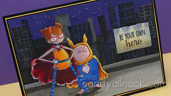 Sandy Allnock Superhero duos