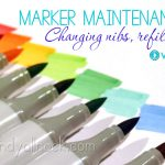 When and how to change Copic nibs and refill pens