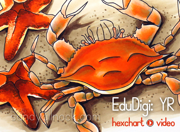 Sandy Allnock - EduDigi plus Hex Chart
